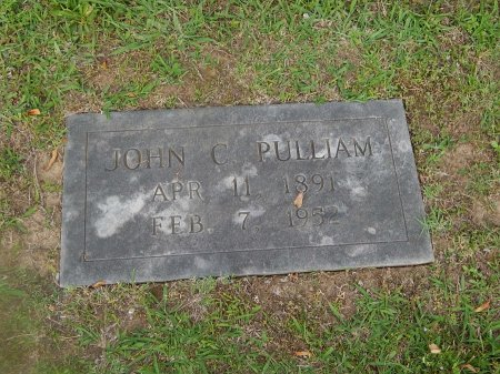 PULLIAM, JOHN C - Knox County, Tennessee | JOHN C PULLIAM - Tennessee Gravestone Photos