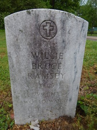 RAMSEY (VETERAN WWII), WILLIE BRUCE - Knox County, Tennessee | WILLIE BRUCE RAMSEY (VETERAN WWII) - Tennessee Gravestone Photos