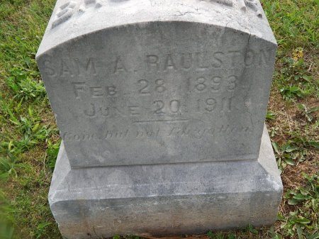 RAULSTON, SAM A - Knox County, Tennessee | SAM A RAULSTON - Tennessee Gravestone Photos