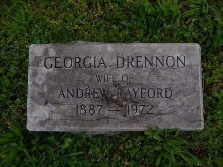 DRENNON RAYFORD, GEORGIA - Knox County, Tennessee | GEORGIA DRENNON RAYFORD - Tennessee Gravestone Photos