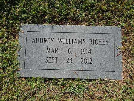 WILLIAMS RICHEY, AUDREY - Knox County, Tennessee   AUDREY WILLIAMS RICHEY - Tennessee Gravestone Photos