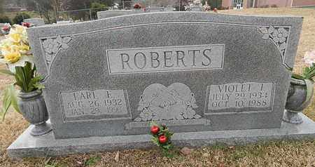 ROBERTS, EARL E - Knox County, Tennessee | EARL E ROBERTS - Tennessee Gravestone Photos