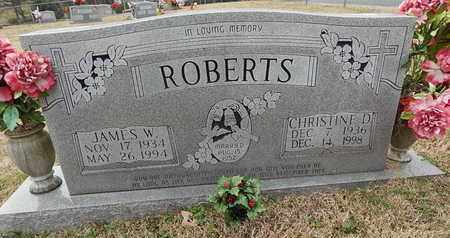 ROBERTS, CHRISTINE D - Knox County, Tennessee | CHRISTINE D ROBERTS - Tennessee Gravestone Photos