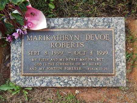 ROBERTS, MARIKATHRYN DEVOE - Knox County, Tennessee | MARIKATHRYN DEVOE ROBERTS - Tennessee Gravestone Photos