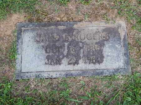ROGERS, JAMES B - Knox County, Tennessee | JAMES B ROGERS - Tennessee Gravestone Photos