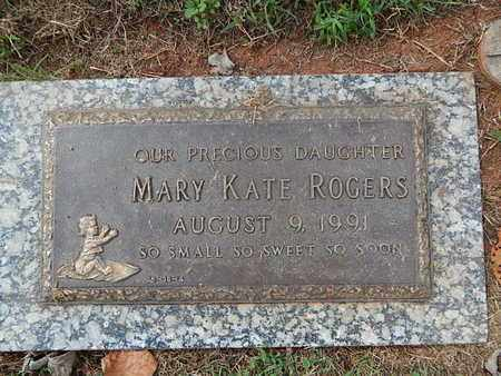 ROGERS, MARY KATE - Knox County, Tennessee | MARY KATE ROGERS - Tennessee Gravestone Photos