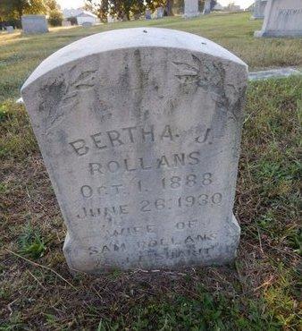 ROLLANS, BERTHA J - Knox County, Tennessee   BERTHA J ROLLANS - Tennessee Gravestone Photos