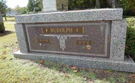 RUDOLPH, JEANNE - Knox County, Tennessee | JEANNE RUDOLPH - Tennessee Gravestone Photos