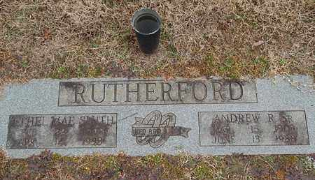 RUTHERFORD, ANDREW R - Knox County, Tennessee | ANDREW R RUTHERFORD - Tennessee Gravestone Photos