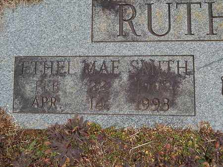 RUTHERFORD, ETHEL MAE (CLOSE-UP) - Knox County, Tennessee | ETHEL MAE (CLOSE-UP) RUTHERFORD - Tennessee Gravestone Photos