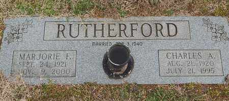 RUTHERFORD, MARJORIE F - Knox County, Tennessee | MARJORIE F RUTHERFORD - Tennessee Gravestone Photos