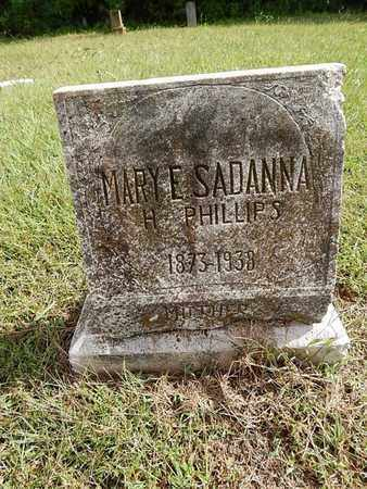 SADANNA, MARY E - Knox County, Tennessee | MARY E SADANNA - Tennessee Gravestone Photos
