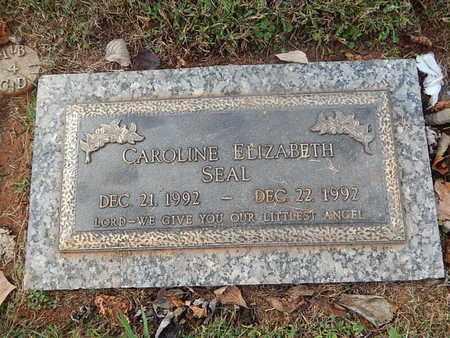 SEAL, CAROLINE ELIZABETH - Knox County, Tennessee   CAROLINE ELIZABETH SEAL - Tennessee Gravestone Photos