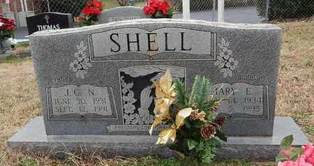 SHELL, MARY E - Knox County, Tennessee | MARY E SHELL - Tennessee Gravestone Photos