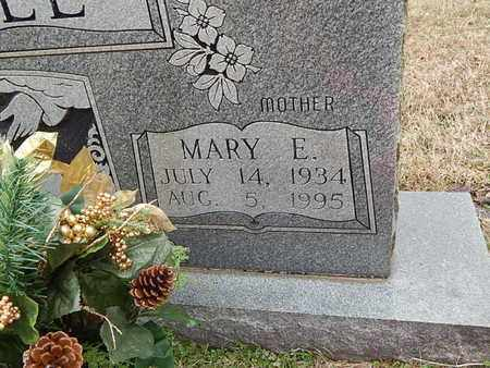 SHELL, MARY E (CLOSE-UP) - Knox County, Tennessee | MARY E (CLOSE-UP) SHELL - Tennessee Gravestone Photos