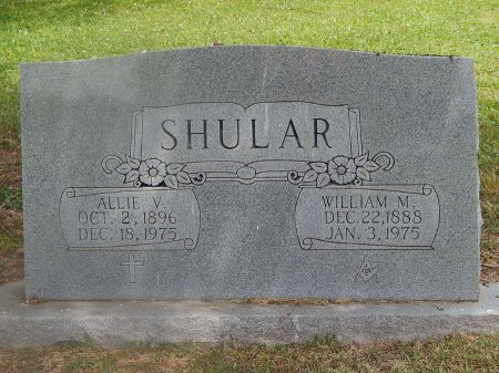 SHULAR, ALLIE V - Knox County, Tennessee | ALLIE V SHULAR - Tennessee Gravestone Photos