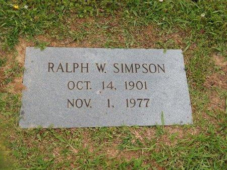 SIMPSON, RALPH W - Knox County, Tennessee   RALPH W SIMPSON - Tennessee Gravestone Photos