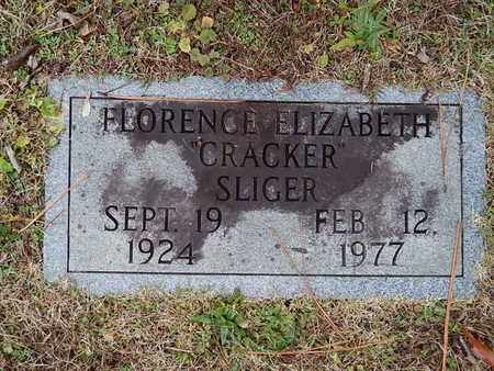 SLIGER, FLORENCE ELIZABETH - Knox County, Tennessee   FLORENCE ELIZABETH SLIGER - Tennessee Gravestone Photos