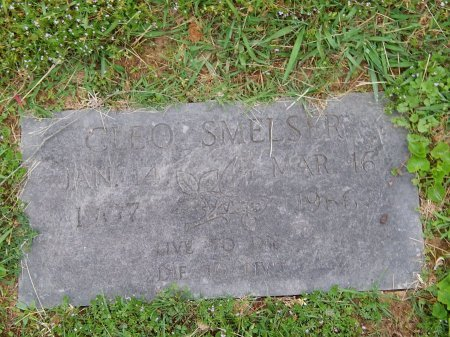 SMELSER, CLEO - Knox County, Tennessee | CLEO SMELSER - Tennessee Gravestone Photos