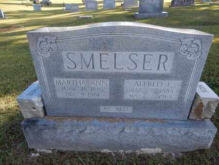 SMELSER, ALFRED F - Knox County, Tennessee | ALFRED F SMELSER - Tennessee Gravestone Photos