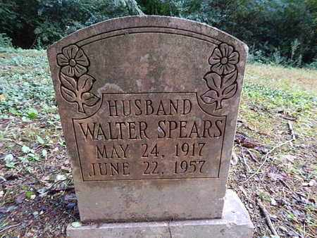 SPEARS, WALTER - Knox County, Tennessee | WALTER SPEARS - Tennessee Gravestone Photos