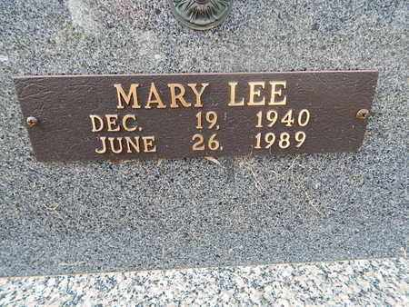 STARK, MARY LEE (CLOSE-UP) - Knox County, Tennessee | MARY LEE (CLOSE-UP) STARK - Tennessee Gravestone Photos
