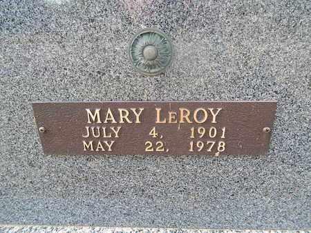 STARK, MARY LEROY (CLOSE-UP) - Knox County, Tennessee | MARY LEROY (CLOSE-UP) STARK - Tennessee Gravestone Photos