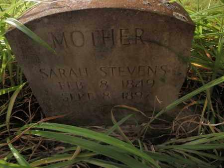 JOPLIN STEVENS, SARAH WILLISON - Knox County, Tennessee | SARAH WILLISON JOPLIN STEVENS - Tennessee Gravestone Photos