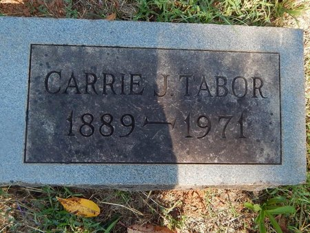 TABOR, CARRIE J - Knox County, Tennessee | CARRIE J TABOR - Tennessee Gravestone Photos