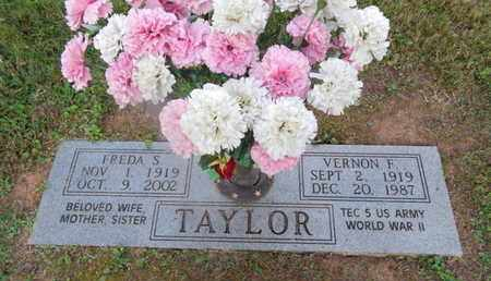 TAYLOR, FREDA S - Knox County, Tennessee | FREDA S TAYLOR - Tennessee Gravestone Photos