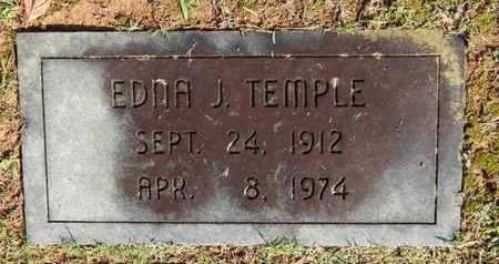 TEMPLE, EDNA J - Knox County, Tennessee | EDNA J TEMPLE - Tennessee Gravestone Photos