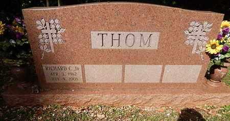 THOM, RICHARD C JR - Knox County, Tennessee | RICHARD C JR THOM - Tennessee Gravestone Photos