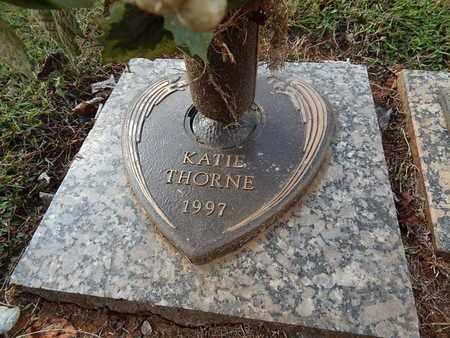 THORNE, KATIE - Knox County, Tennessee | KATIE THORNE - Tennessee Gravestone Photos