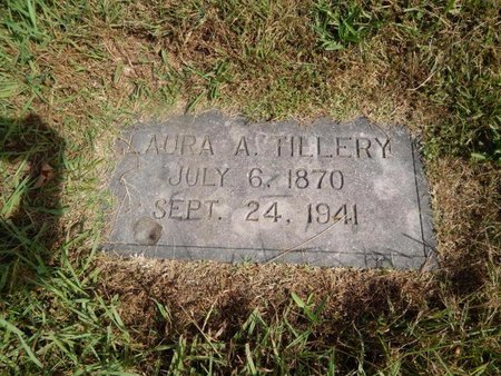 TILLERY, LAURA A - Knox County, Tennessee | LAURA A TILLERY - Tennessee Gravestone Photos