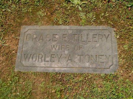 TONEY, GRACE E - Knox County, Tennessee | GRACE E TONEY - Tennessee Gravestone Photos