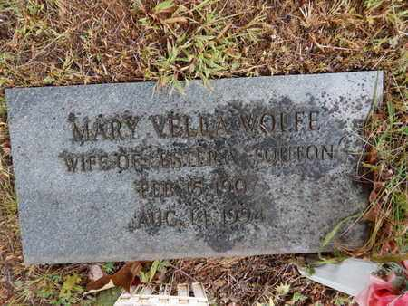 TOUTON, MARY VELLA - Knox County, Tennessee | MARY VELLA TOUTON - Tennessee Gravestone Photos