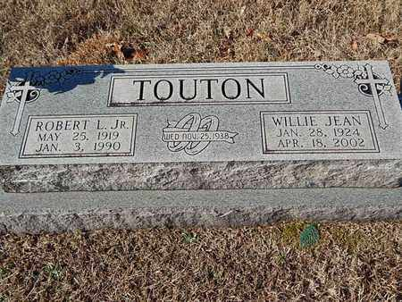 TOUTON, WILLIE JEAN - Knox County, Tennessee | WILLIE JEAN TOUTON - Tennessee Gravestone Photos