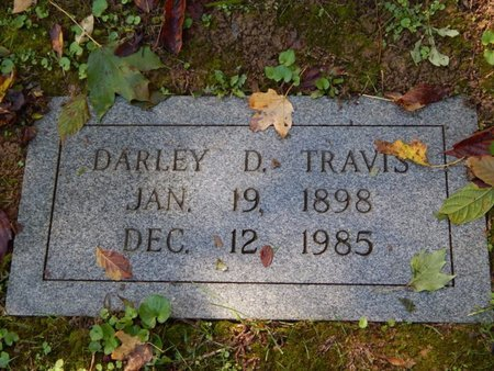 TRAVIS, DARLEY D - Knox County, Tennessee | DARLEY D TRAVIS - Tennessee Gravestone Photos