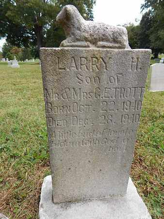 TROTT, LARRY H - Knox County, Tennessee | LARRY H TROTT - Tennessee Gravestone Photos