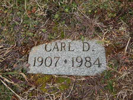 TROUTMAN, CARL D - Knox County, Tennessee | CARL D TROUTMAN - Tennessee Gravestone Photos