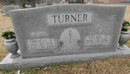 TURNER, ORVILLE F - Knox County, Tennessee   ORVILLE F TURNER - Tennessee Gravestone Photos