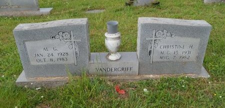 VANDERGRIFF, CHRISTINE  - Knox County, Tennessee | CHRISTINE  VANDERGRIFF - Tennessee Gravestone Photos