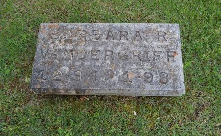 VANDERGRIFF, BARBARA R - Knox County, Tennessee | BARBARA R VANDERGRIFF - Tennessee Gravestone Photos