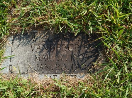 VANDERGRIFF, WILLIAM ROY - Knox County, Tennessee | WILLIAM ROY VANDERGRIFF - Tennessee Gravestone Photos