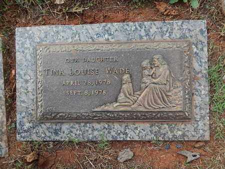WADE, TINA LOUISE - Knox County, Tennessee | TINA LOUISE WADE - Tennessee Gravestone Photos