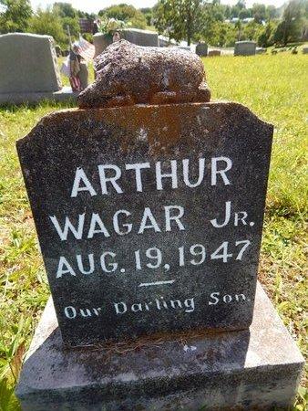 WAGAR, ARTHUR JR - Knox County, Tennessee   ARTHUR JR WAGAR - Tennessee Gravestone Photos