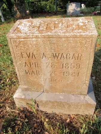 WAGAR, EVA A - Knox County, Tennessee | EVA A WAGAR - Tennessee Gravestone Photos