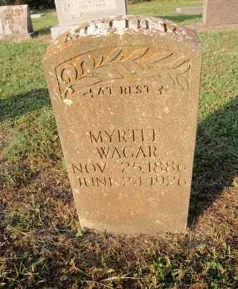 WAGAR, MYRTLE - Knox County, Tennessee | MYRTLE WAGAR - Tennessee Gravestone Photos