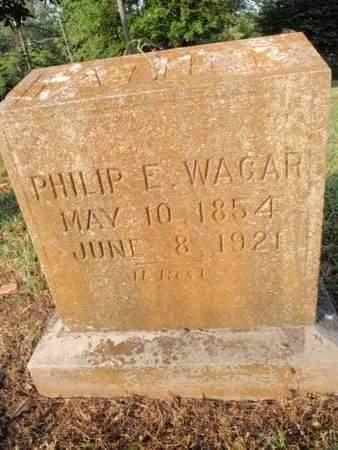 WAGAR, PHILIP E - Knox County, Tennessee | PHILIP E WAGAR - Tennessee Gravestone Photos