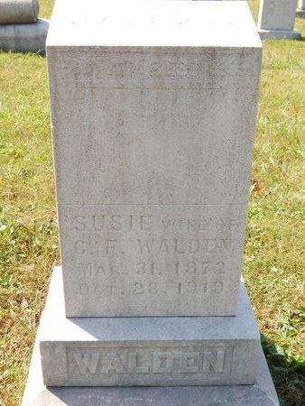 WALDEN, SUSIE - Knox County, Tennessee | SUSIE WALDEN - Tennessee Gravestone Photos